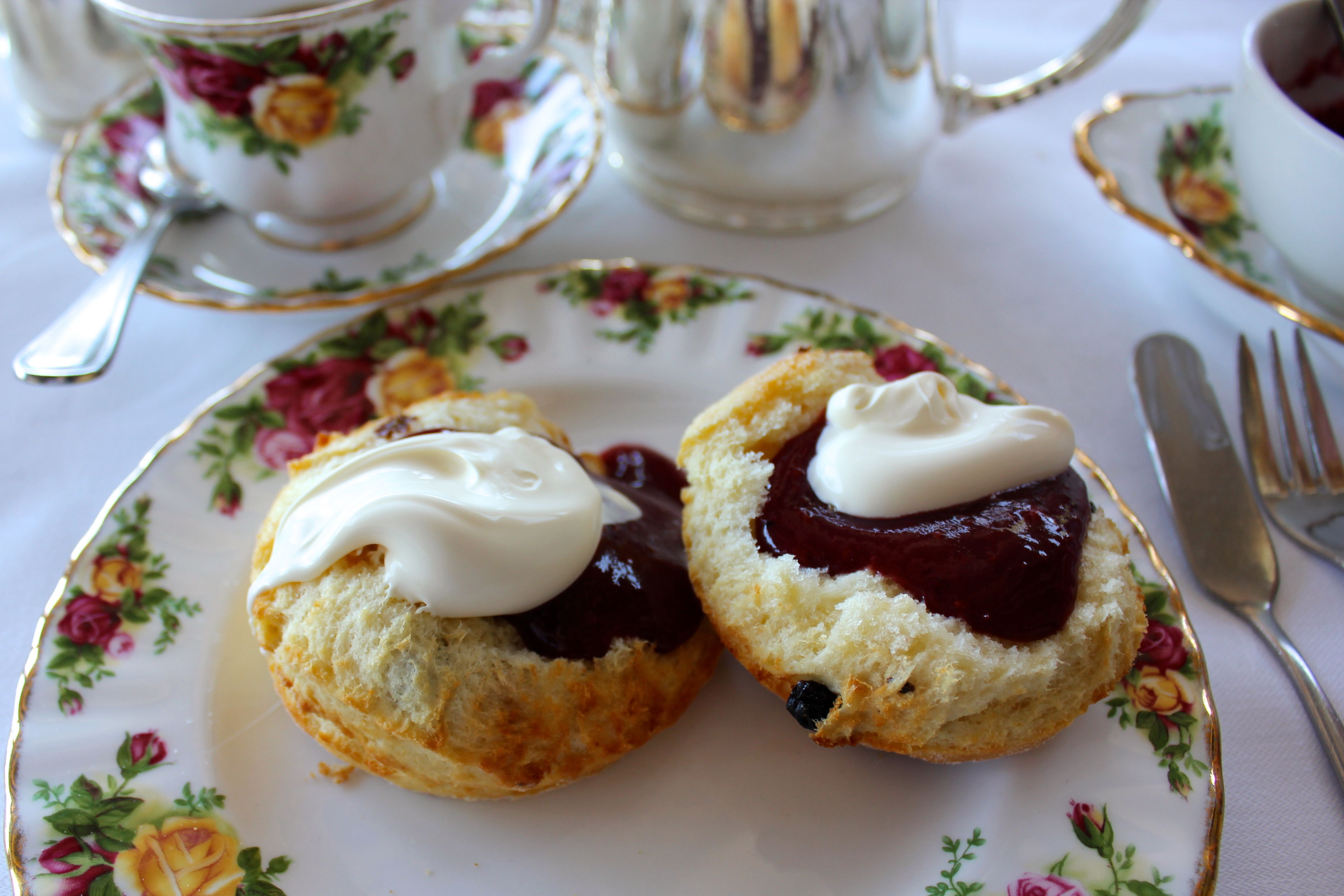 The week on Wallace - High Tea at Gunners Barracks