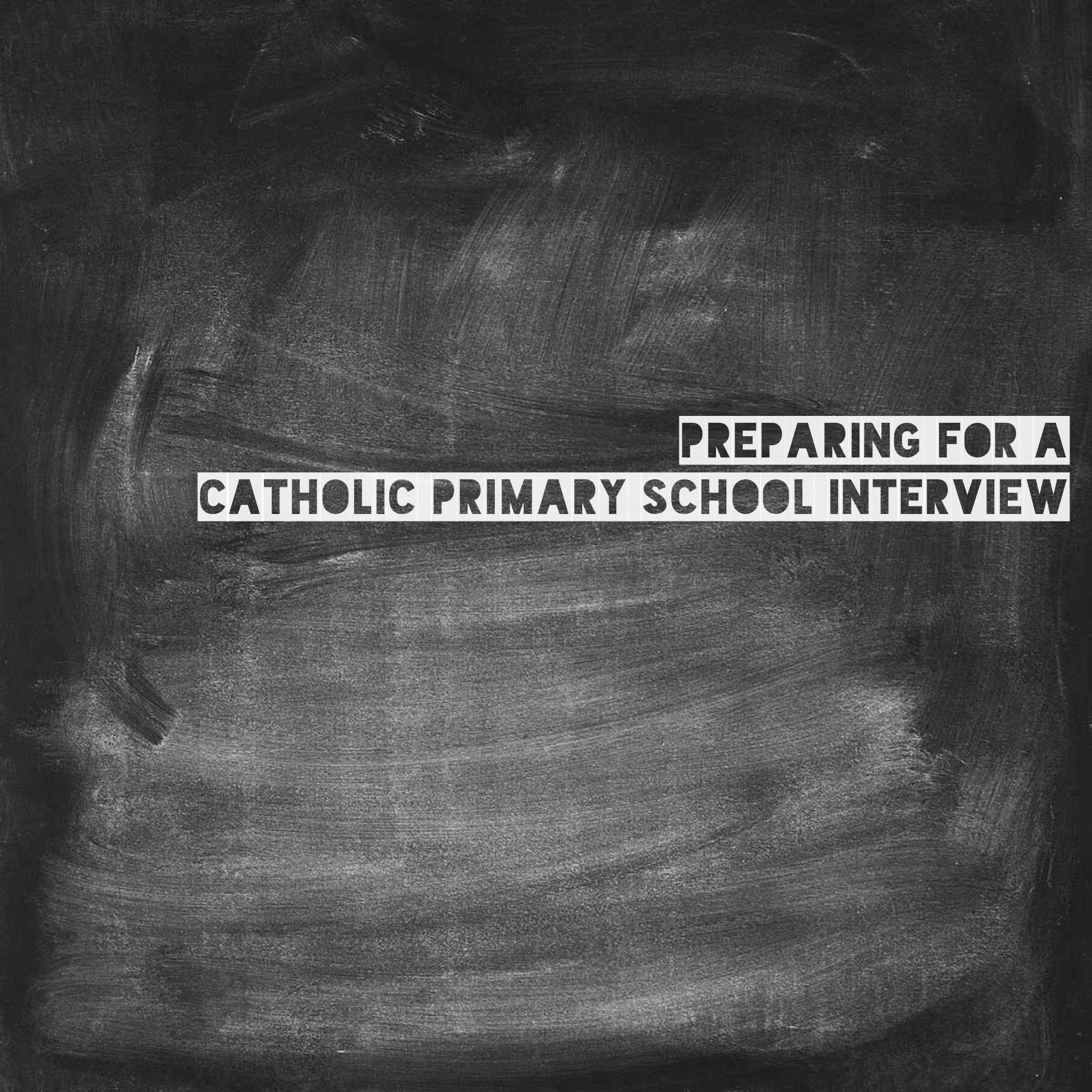 Catholic Primary School interview - Life on Wallace