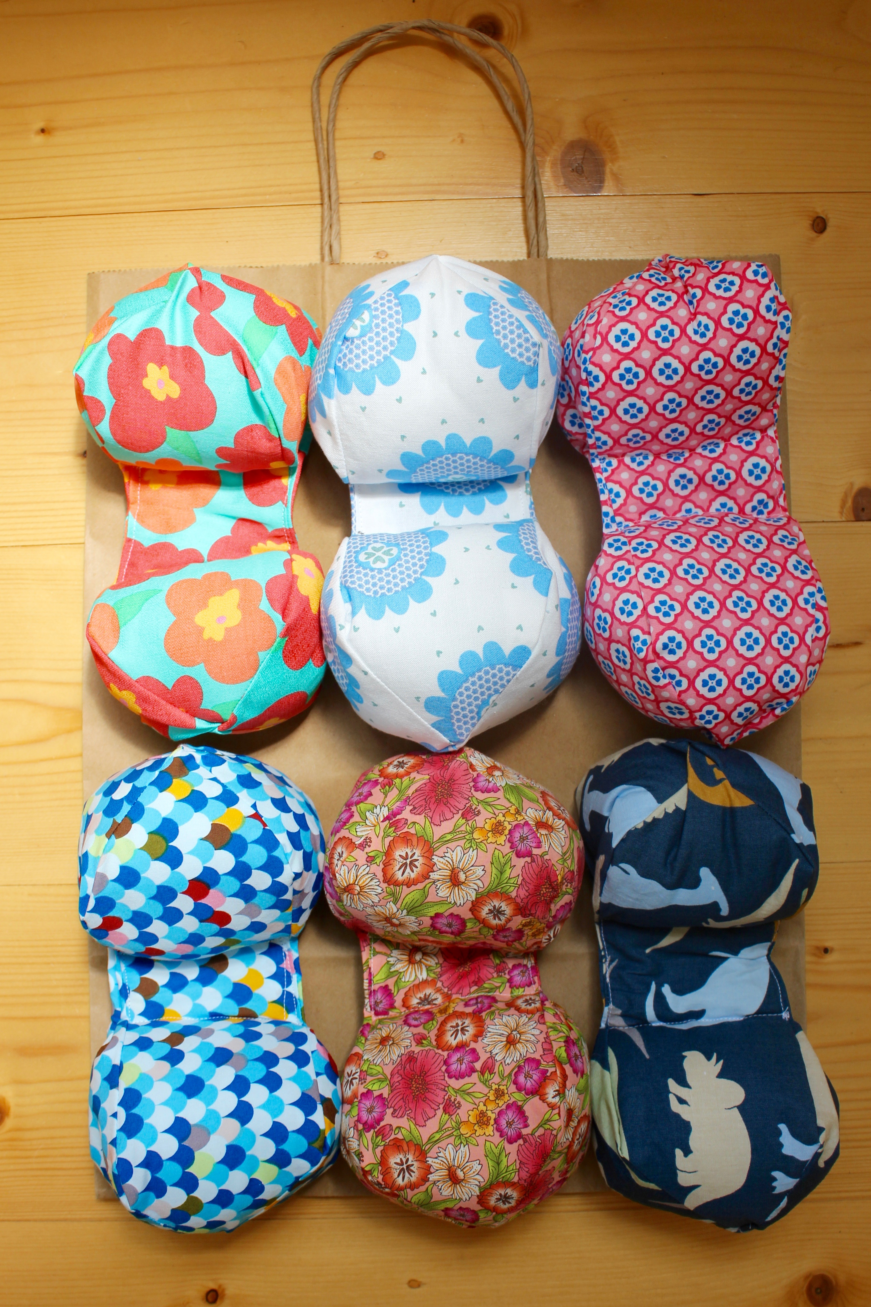 Peanut pillow tutorial for premature babies