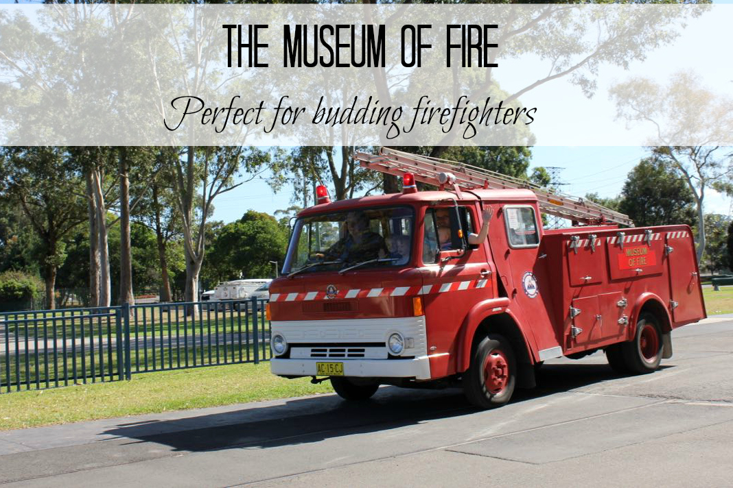 Museum of fire in Penrith cover