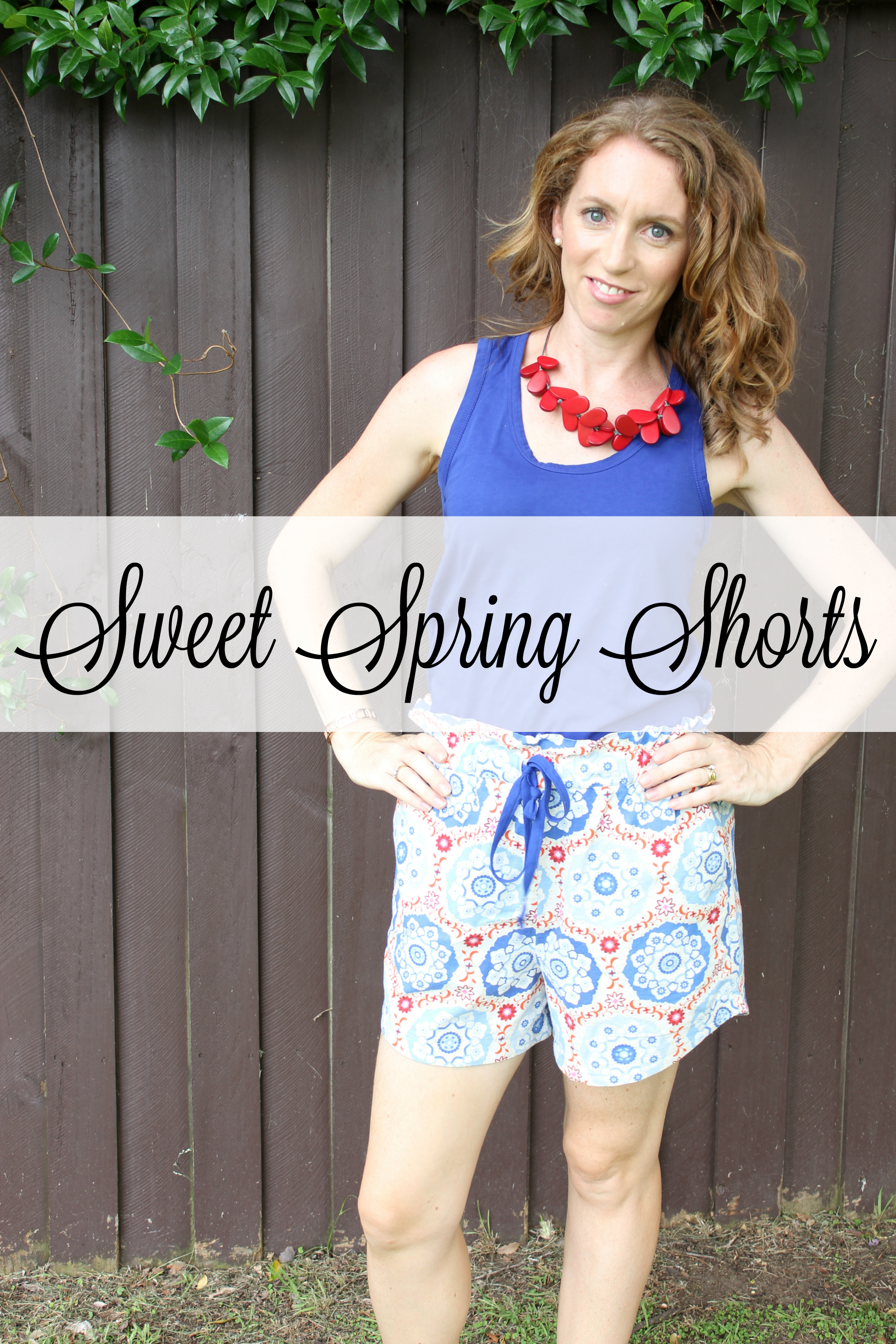 sweet spring shorts life on wallace