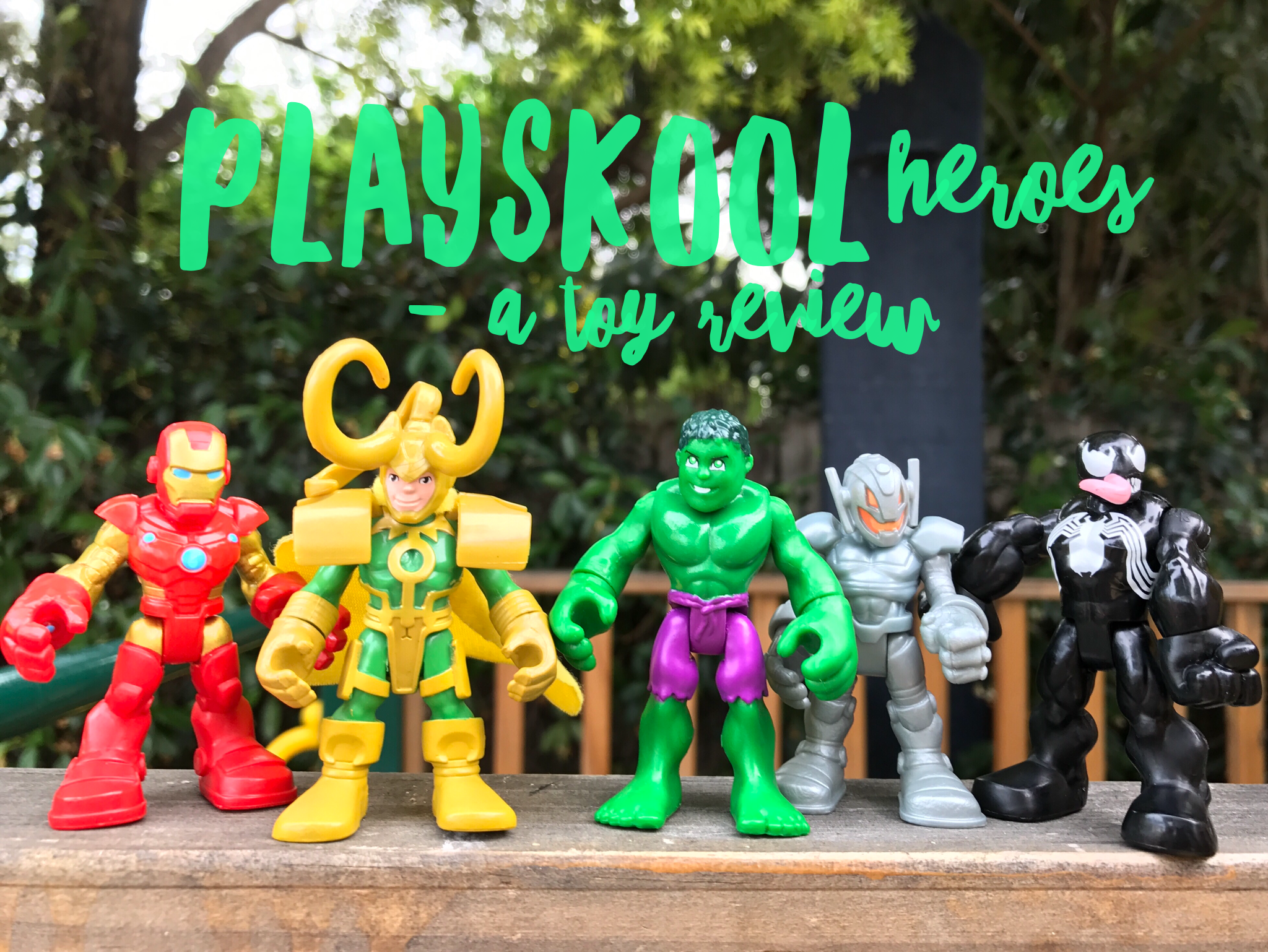 Playskool Heroes Toy Review