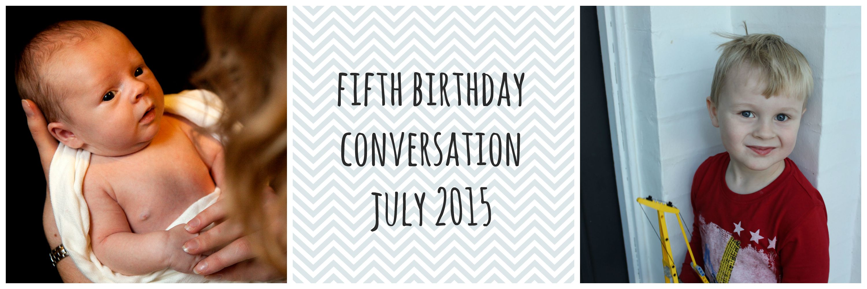 fifth birthday conversation - life on wallace
