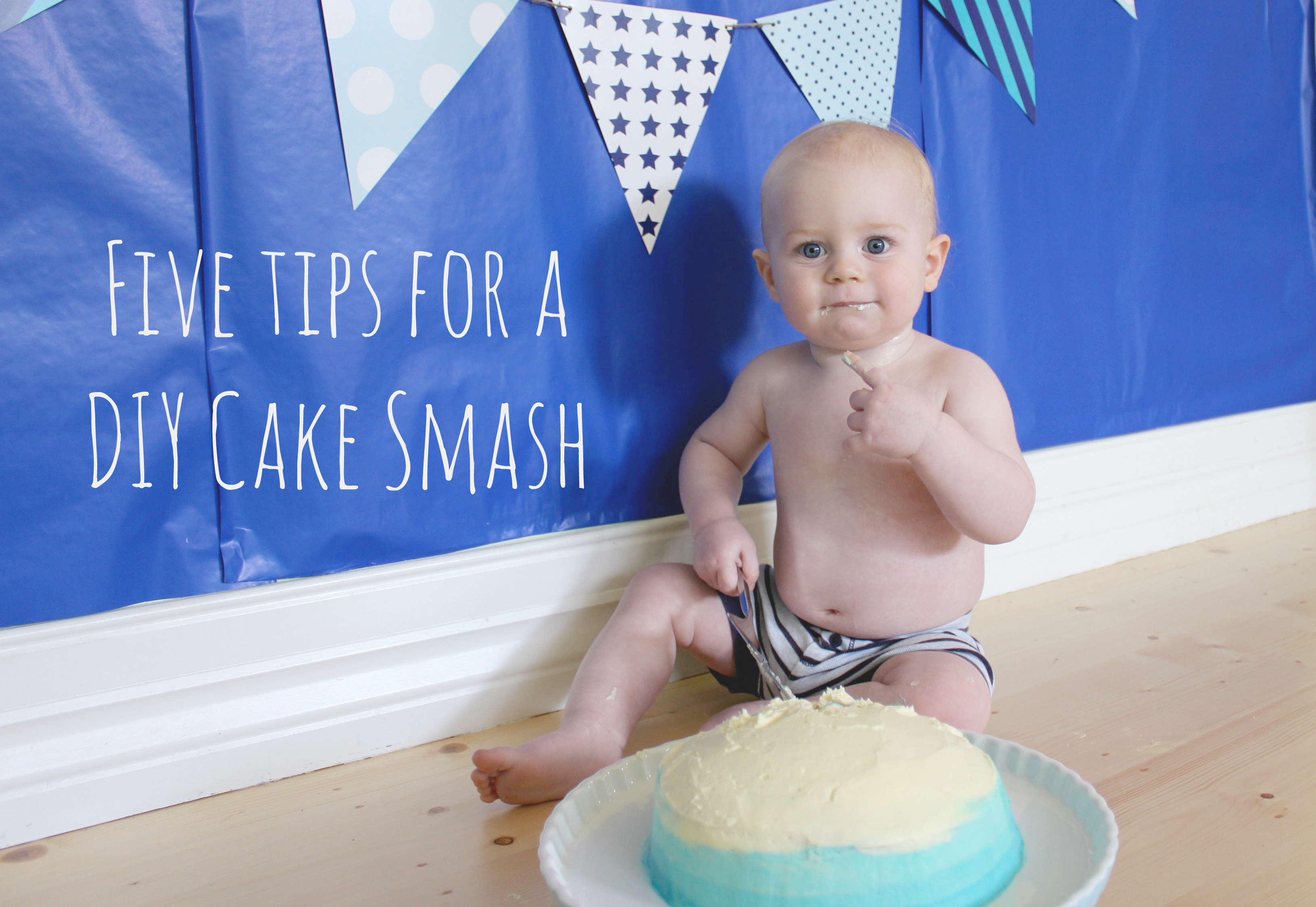 five tips for a diy cake smash tasty