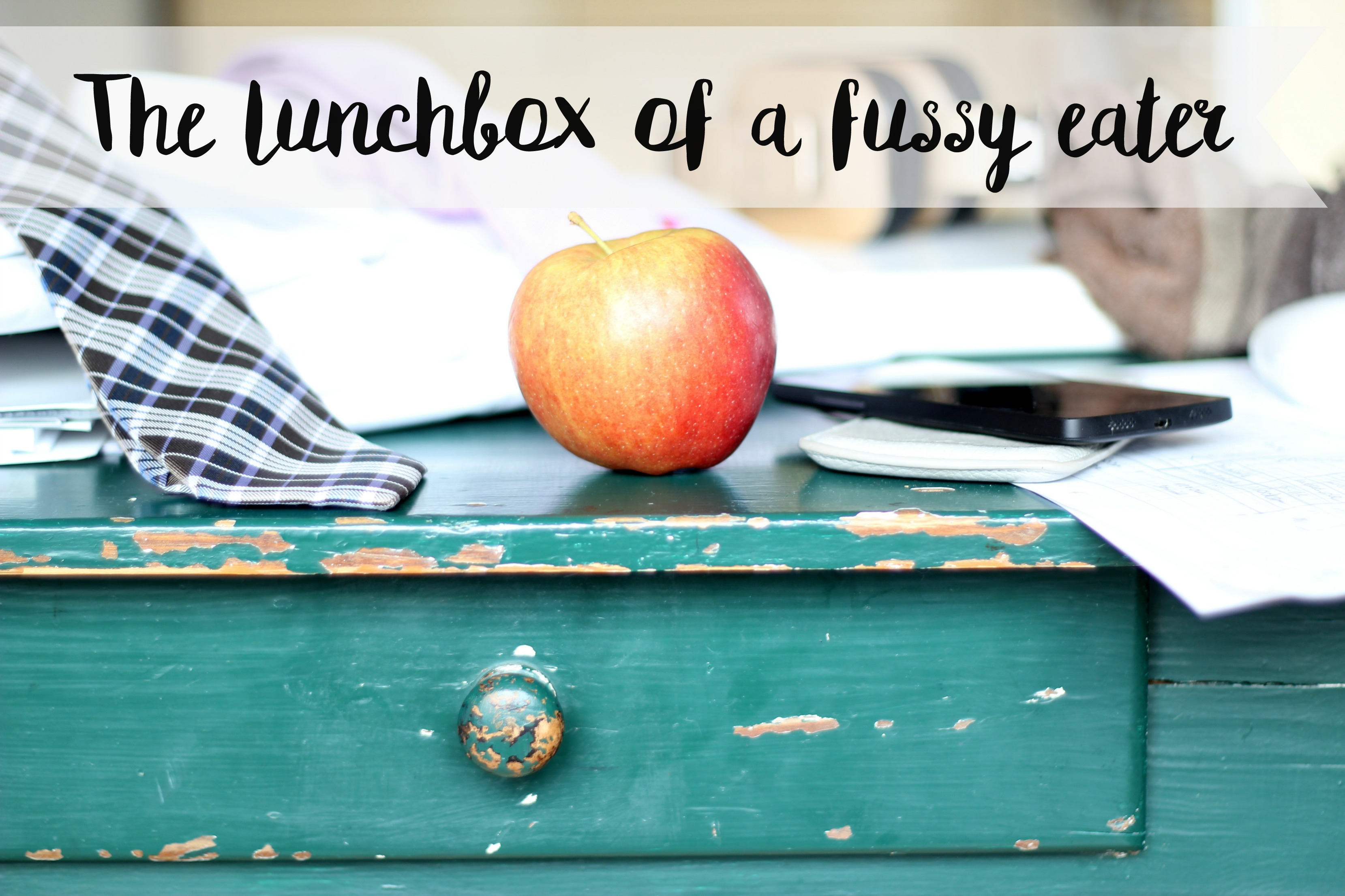 The lunchbox of a fussy eater