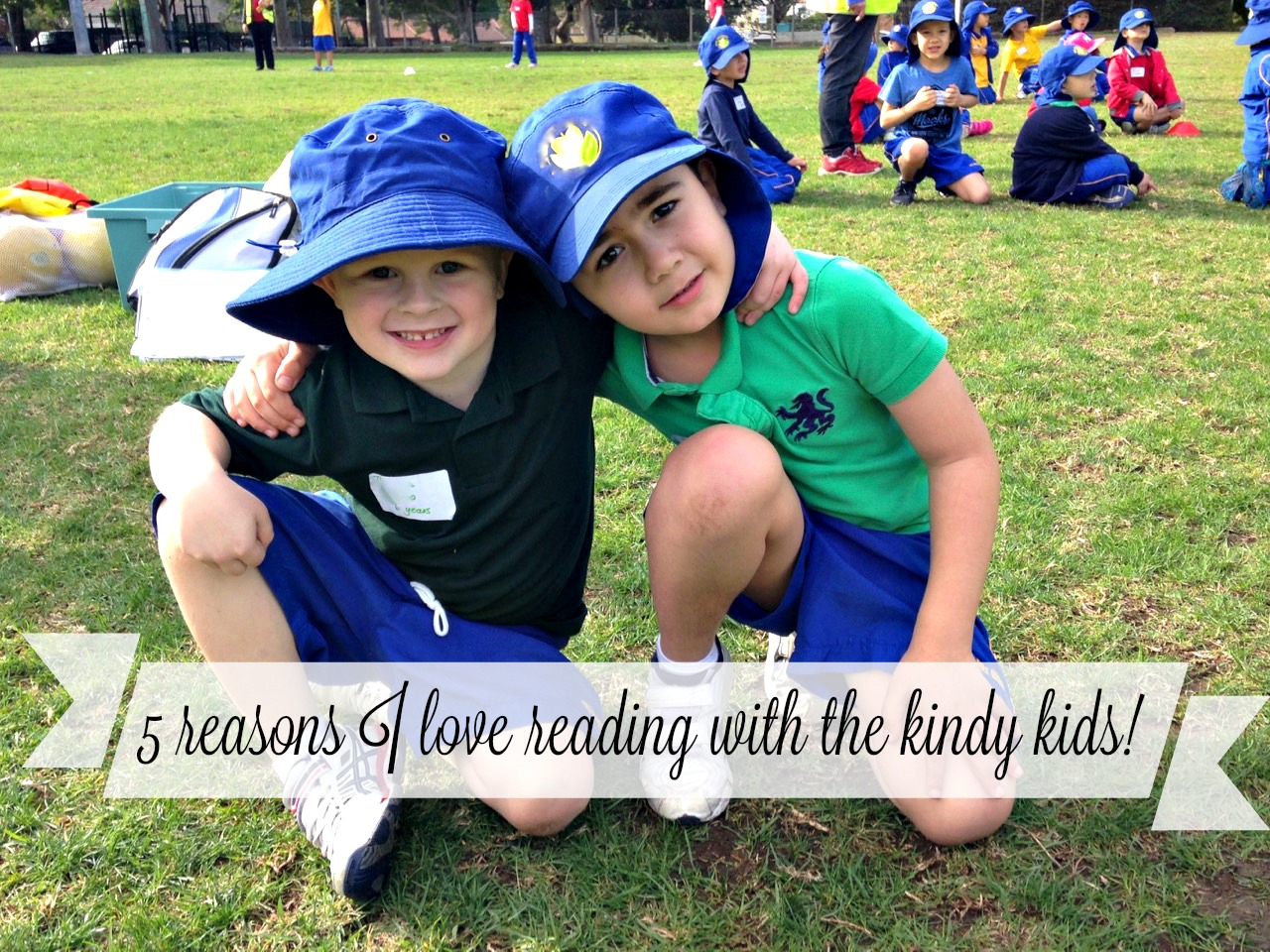 5 reasons I love to read with the kindy kids