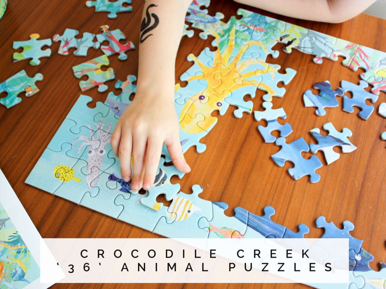 crocodile creek animal puzzles
